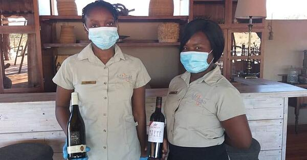 Wearing masks in camp Hand sanitizer Covid-19 Health  Procedures & Medical Evacuations - African Bush Camps Safari