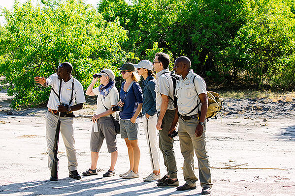 walking safari group travel A Travel Bubble - Exclusive-use of Camps african bush camps safari