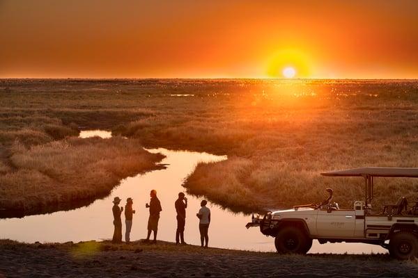 Linyanti Expeditions sundowners botswana Dook 2019 (5)