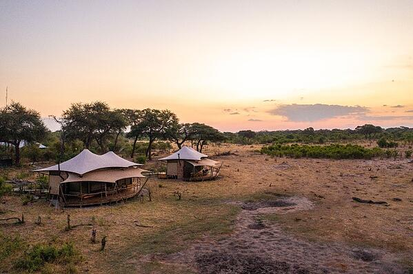 Somalisa Casmp drone shot SImon Watson African Bush Camps-1-1-1
